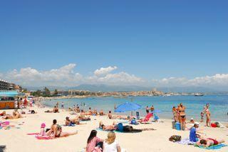 Strand Antibes La Salis