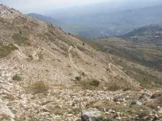 Côte d'Azur Wanderweg Serpentienen Gourdon