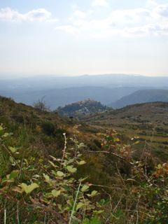 Côte d'Azur Wanderweg Gourdon