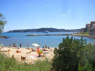 Antibes Strand Plage de la Gravette