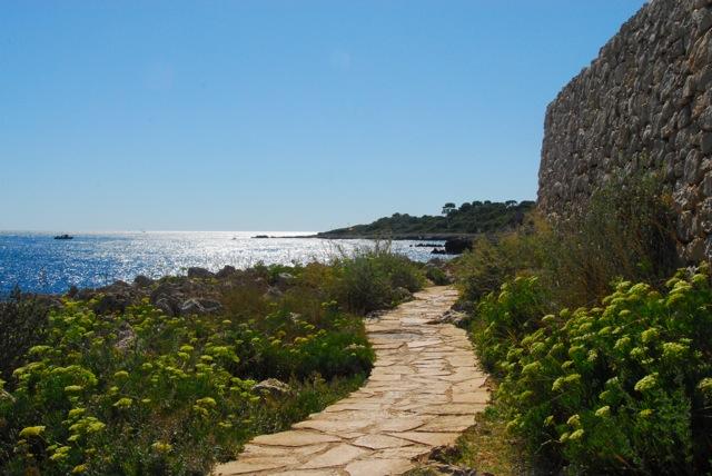 Cap-d-Antibes Wanderweg