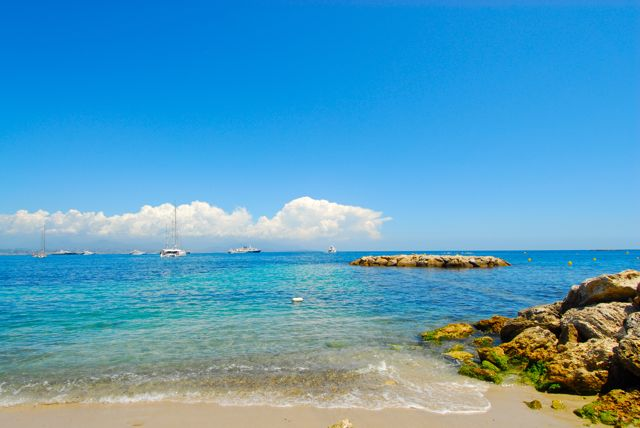 Strand von Antibes Le Ponteil